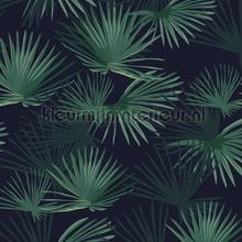 Palm Leaves Dark Green papier peint Creative Lab Amsterdam spécial