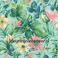 Mint paradise aanbieding behang aanbieding behang