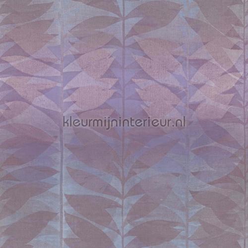Bladprint paars