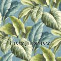 Gatenplant groen blauw sale wallcovering sale wallcovering
