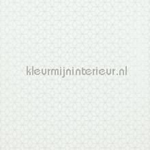 Klein circulair patroon met relief wit tapet BN Wallcoverings Collected 17774