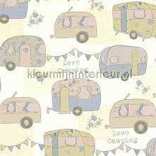 Caravans papel de parede AS Creation Wallpaper creations