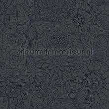Bloemenrelief papel de parede AS Creation Wallpaper creations
