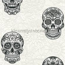 Sugar skulls papel de parede AS Creation Wallpaper creations