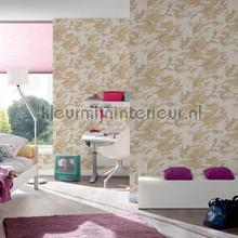 Legerprint motief papel pintado AS Creation Wallpaper creations