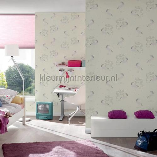 Pastel eenhoorns wallcovering 36989-2 girls AS Creation