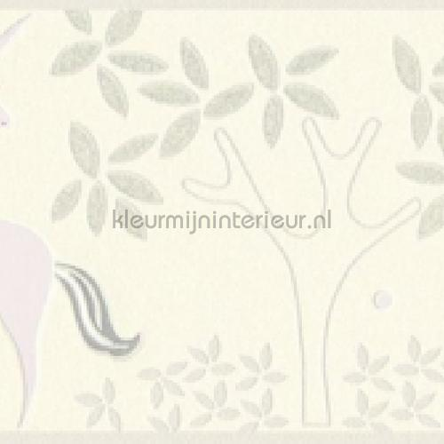 Pastel eenhoorn behangrand papier peint 36990-2 filles AS Creation