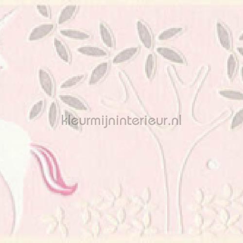 Pastel eenhoorn behangrand papel de parede 36990-3 raparigas AS Creation