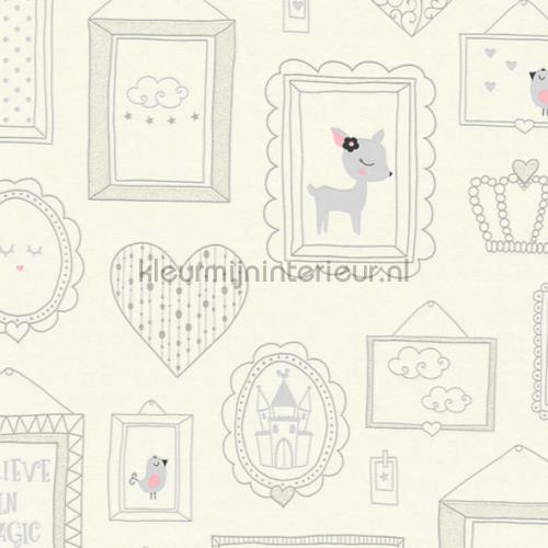Schattige inlijstingen wallcovering 36991-1 girls AS Creation