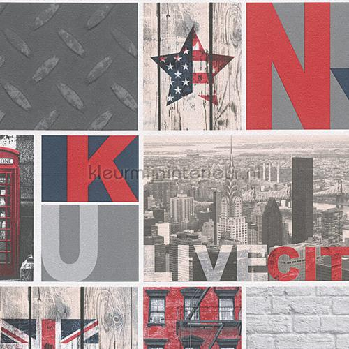 Uk city live papel de parede 95596-1 raparigas AS Creation