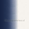 Dip dye strepen blauw tapeten Esta home weltraum