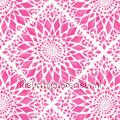 Geruit bloempatroon roze tapet Esta home Cabana 140-148-610