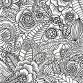 Ibiza flowers zwart tapet Esta home Cabana 140-148-616