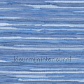 Geweven katoen kleed blauw tapet Esta home Cabana 140-148-622