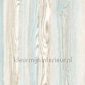 Houtnerf behang lichtblauw tapet Esta home Cabana 140-148-625