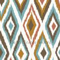 Azteken ruitpatroon bruin tapet Esta home Cabana 140-148-633
