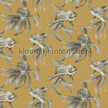 Koi behaang York Wallcoverings van vruuger