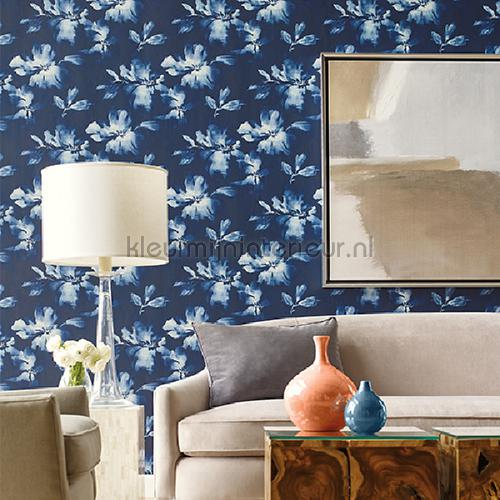 midnight blooms behang so2475 romantisch modern York Wallcoverings