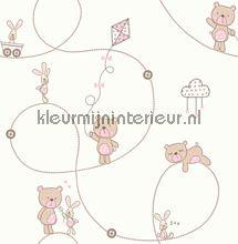 Beertje op pad carta da parati Dutch Wallcoverings Carousel DL21103