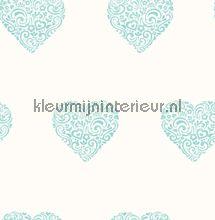 Versierde harten papel pintado Dutch Wallcoverings rayas
