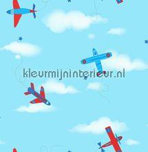 Vliegtuigen in de lucht carta da parati Dutch Wallcoverings Carousel DL21134