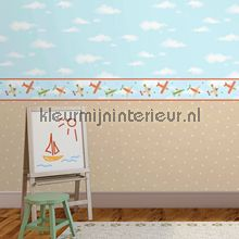Wolkjes behang Dutch Wallcoverings Baby Peuter