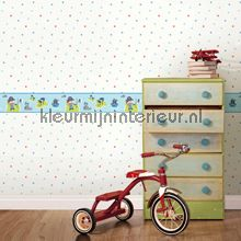 Dwarrel hartjes behang Dutch Wallcoverings Baby Peuter
