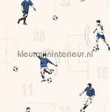 Voetbalveld en spelers carta da parati Dutch Wallcoverings Carousel DL21145
