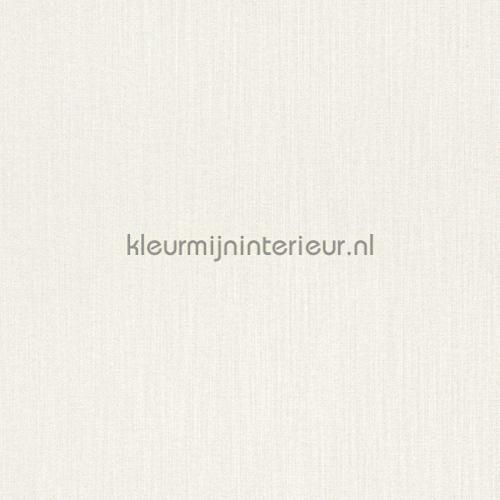 Uni textiel off white behang 077109 Cassata Rasch