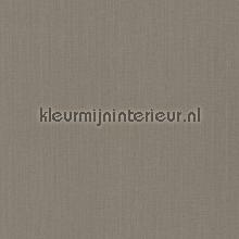 Uni textiel vergrijsd bruin behang Rasch Cassata 077123