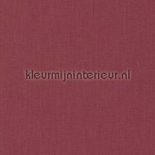 Uni textiel donker rood behang Rasch Cassata 077154