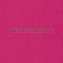 Uni textiel fuchsia roze behang Rasch Cassata 077178