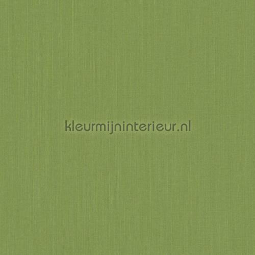 Uni textiel groening antraciet behang 077192 Cassata Rasch