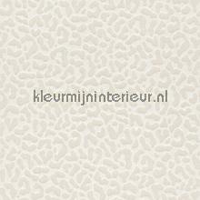 Panterprint op textiel wit behang Rasch Cassata 077420