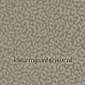 Panterprint op textiel vergrijsd bruin Rasch