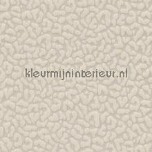 Panterprint op textiel licht grijs beige behang Rasch Cassata 077468