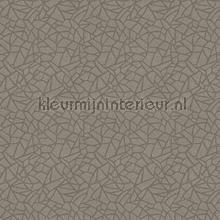 Fractured geometric papel pintado Hookedonwalls Moderno Abstracto