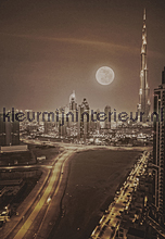 Dubai - vintage brown fotomurales Dutch Wallcoverings City Love CL60C