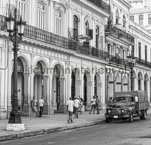 Havana - black & white fotomurales Dutch Wallcoverings City Love CL76B