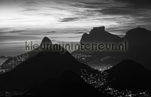 Rio de Janeiro - black & white fotomurales Dutch Wallcoverings City Love CL82B