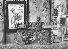 Buenos Aires - black & white fotomurales Dutch Wallcoverings City Love CL86B