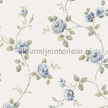 Zware vinyl romantische bloem wallcovering Noordwand Classic V 3046