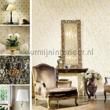 Zware vinyl scroll takken wallcovering Noordwand Classic V 3021