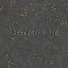 Marmer zwart goud tapeten Dutch Wallcoverings Collected e85529