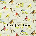 GARDEN BIRDS Linen cortinas Prestigious Textiles romántico