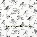GARDEN BIRDS Graphite cortinas Prestigious Textiles romántico