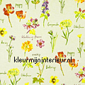 WILD FLOWERS Linen curtains Prestigious Textiles kitchen