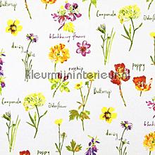WILD FLOWERS Watercolour gordijnen Prestigious Textiles romantisch