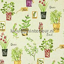 HERB POTS Linen gordijnen Prestigious Textiles romantisch