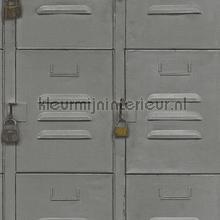 Kluisjes grijs tapeten Rasch Crispy Paper 524208